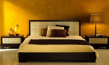 idei design dormitor asiatic